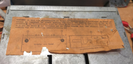 Akkord einschubhalterung  CV627/28  1967/69 Kever Käfer