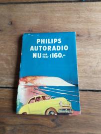 Philips landkaart 1968 europa o.a. NX 624 V