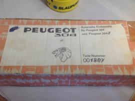 Autoradio inbouw / einbausatz Peugeot 304 / 304 S