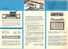 Blaupunkt 1965 Fernseher / Autoradio