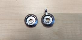 Hoog / laag ringen achter draaiknoppen Blaupunkt autoradio
