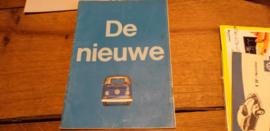 Folder Volkswagen T2 1968