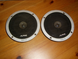 2x speakerAlpine 6113  20Watt 4 Ohm