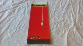 Autovox 1969 folder + prijslijst