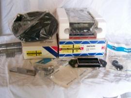 Original Datsun Bluebird 1979 radio + installation kit