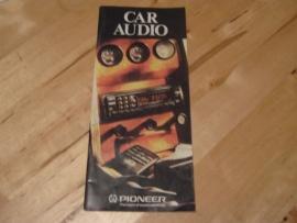 """Ω PIONEER ® folder """"Auto-Stereo 12/89"""""""