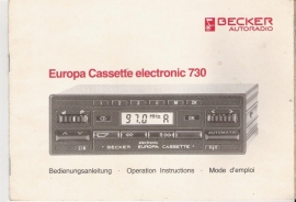 Europa Cassette electronic 730