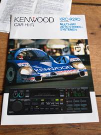 Kenwood  KRC-929D