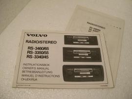 Volvo radio Gebruiks aanwijzing