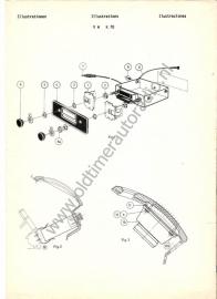 Radio inbouw VW K 70