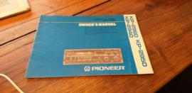 Pioneer KP-2980 2950 2940 gebruiksaanwijzing manual betriebsanleitung