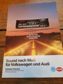 VAG autoradio auto-telefon prospekt (Philips)