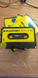 Blaupunkt cassette  C-60 (zwart)