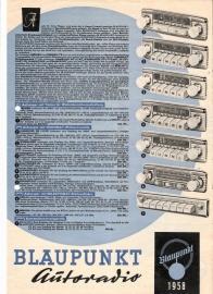 Blaupunkt 1958 Autoradio