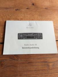 Mercedes audio 10 gebruiksaanwijzing