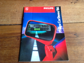 Philips 1986 autoradio folder o.a DC 954 en DC085