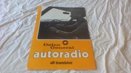 Opel/Delco General prospekt autoradio