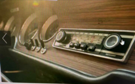 klassieke autoradio Grundig (defect)