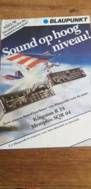 Blaupunkt 1985 leaflet Kingston R 24 / Memphis SQR 04