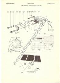 Radio inbouw VW T1 55-62