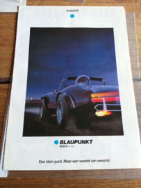 Blaupunkt 1989 folder / poster