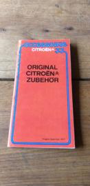 Blaupunkt 1977 folder Citroën orginal zubehör