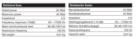 luidspreker / speaker speciaal voor Porsche 911 / 912 Blaupunkt radio
