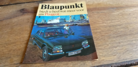 Blaupunkt 1975 Folder Peugeot