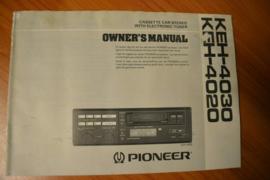 Pioneer KEH-4030 4020 gebruiksaanwijzing manual betriebsanleitung