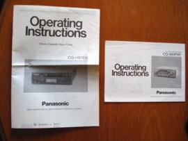 Panasonic operating instructions CQ-563FNV
