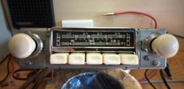 Blaupunkt Frankfurt 6 of 12 volt FM radio met graue knoppen X serie  66/67