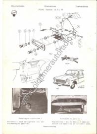 Radio inbouw Ford Taunus 12M 10.63