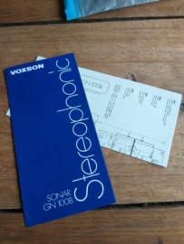Voxson 1974 Sonar 1008 Stereophonic