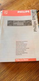 DN 189 gebruiksaanwijzing manual Philips  autoradio