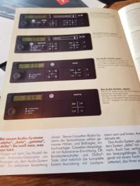 Die neuen audio-systeme, VW Golf GTI radio folder