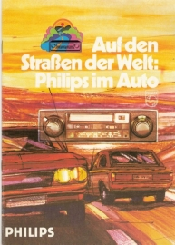 Philips 1972 radio folder : Philips im Auto 1972