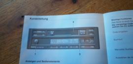 Bavaria reverse RDS Original BMW Autoradio Betriebsanleitung manual gebruiksaanwijzing