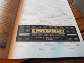 Becker autoradio folder o.a. Becker mexico diversity 830