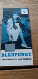 Blaupunkt 1962 transistor - portables
