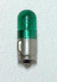 autoradio lampje 12 volt (groen)