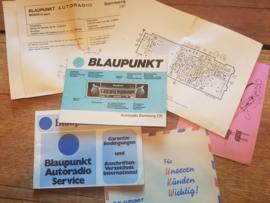 Bamberg CR Bedienungsanleitung Schaltplan Autoradio Blaupunkt