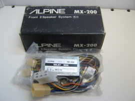 ////Alpine MX-200 front 2 speaker system kit