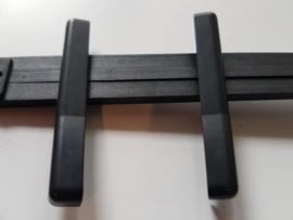 seitenblende / afdekplaatjes zijkant voor o.a. blaupunkt bremen sqr 49, symphony Porsche radio
