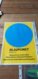 Blaupunkt 1972 folder/prijslijst (ned) juni