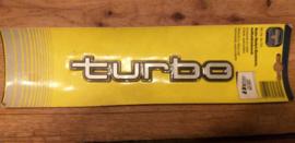 "auto emblem ""TURBO"""