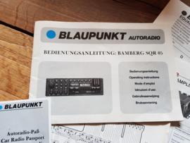 Bamberg SQR 05 Blaupunkt Betriebsanleitung u. andere Dokumente