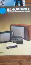 Blaupunkt 1977  folder Interfunk-progamm