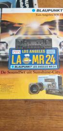 Blaupunkt 1984 leaflet Los Angeles MR 24