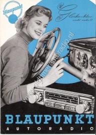Blaupunkt 1957 folder
