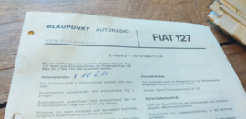 einbauanleitung / installation instructions Fiat 127